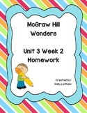 McGraw Hill Wonders Unit 3 Week 2 Homework