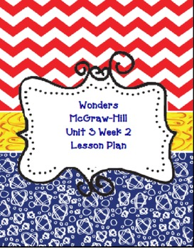 Kindergarten McGraw-Hill Wonders: Unit 3 Week 2- PowerPoint/Activities