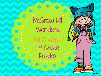 McGraw Hill Wonders Unit 3 Week 2 Puzzles