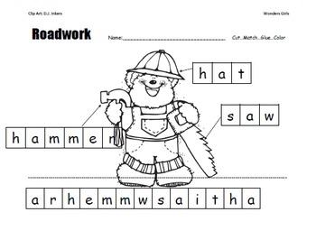 Kindergarten McGraw-Hill Wonders: Unit 3 Week 3- PowerPoint/Activities