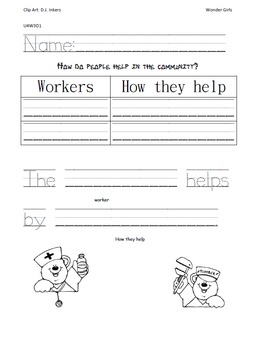 Kindergarten: Unit 3 Week 3- PowerPoint/Activities