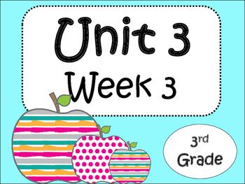 Unit 3: Week 3 (third grade)
