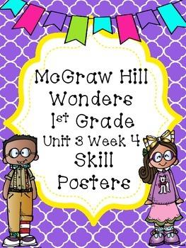 McGraw Hill Wonders Unit 3 Week 4 Skill Posters