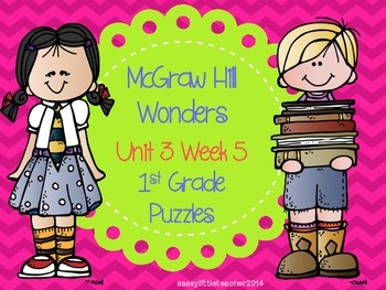 McGraw Hill Wonders Unit 3 Week 5 Puzzles