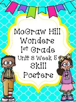 McGraw Hill Wonders Unit 3 Week 5 Skill Posters