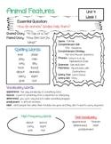 McGraw-Hill Wonders Unit 4 Focus Wall / Parent Info Sheet