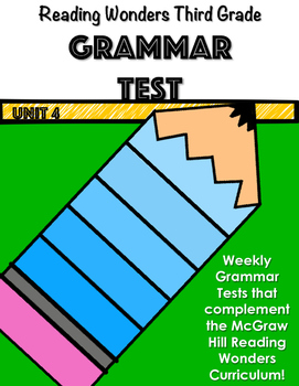 Mcgraw hill wonders unit 4 teaching resources teachers pay teachers mcgraw hill wonders unit 4 grammar test fandeluxe Choice Image