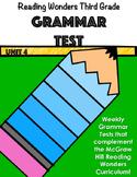 Unit 4 Grammar Test
