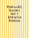 McGraw Hill Wonders Grade 3 Unit 4 Interactive Notebook