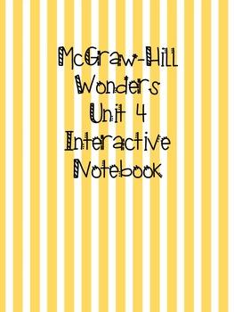 McGraw Hill Wonders Grade 3 Unit 4 Interactive Notebook