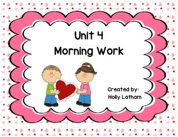 McGraw Hill Wonders Unit 4 Morning Work