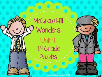 McGraw Hill Wonders Unit 4 Puzzles