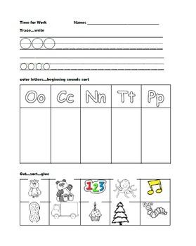 Kindergarten Wonders: Unit 4 Week 1- Lesson Plans/Activities