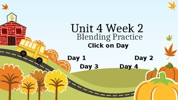 McGraw Hill Wonders Unit 4 Week 2 Phonics Blending Practice