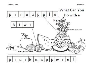 Kindergarten: Unit 4 Week 2- PowerPoint/Activities