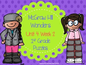 McGraw Hill Wonders Unit 4 Week 2 Puzzles
