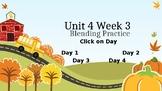 McGraw Hill Wonders Unit 4 Week 3 Phonics Blending Practice