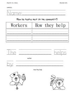 Kindergarten Wonders: Unit 4 Week 3- PowerPoint/Activities