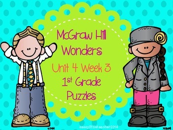 McGraw Hill Wonders Unit 4 Week 3 Puzzles