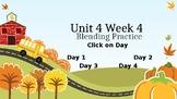 McGraw Hill Wonders Unit 4 Week 4 Phonics Blending Practice