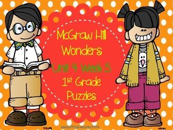 McGraw Hill Wonders Unit 4 Week 5 Puzzles