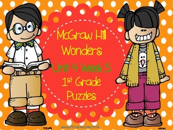 McGraw Hill Wonders Unit 4 Week 5 Puzzles