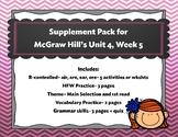 McGraw Hill Wonders Unit 4, Week 5 Supplemental Activity Pack