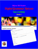 McGraw Hill Wonders: Unit 5 BUNDLE of Digital Grammar Quiz