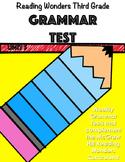 McGraw-Hill Wonders Unit 5 Grammar Test