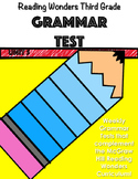 Unit 5 Grammar Test