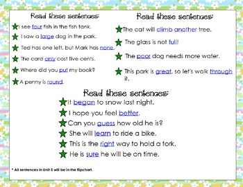 McGraw Hill Wonders Unit 5 Review First Grade