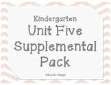 Unit 5 Supplemental Pack