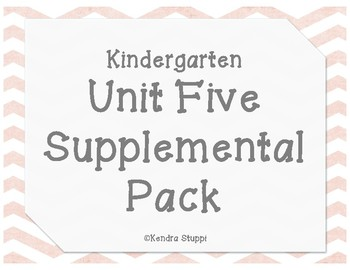 McGraw Hill - Wonders - Unit 5 Supplemental Pack