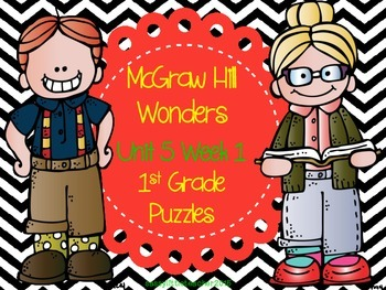 McGraw Hill Wonders Unit 5 Week 1 Puzzles