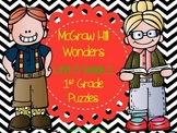 McGraw Hill Wonders Unit 5 Week 1 Puzzles