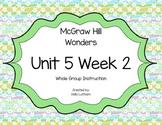 McGraw Hill Wonders Unit 5 Week 2 First Grade