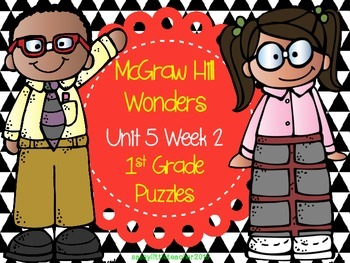 McGraw Hill Wonders Unit 5 Week 2 Puzzles