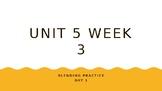 McGraw Hill Wonders Unit 5 Week 3 Phonics Blending Practice