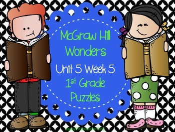 McGraw Hill Wonders Unit 5 Week 5 Puzzles