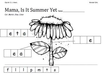 Kindergarten Wonders: Unit 6 Week 1- PowerPoint/Activities
