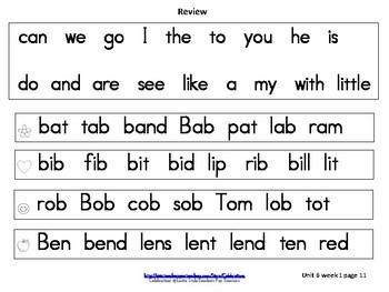 McGraw-Hill Wonders Reading Groups: Unit 6, Week 1: Letters L & B