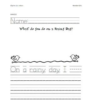 Kindergarten: Unit 6 Week 2- PowerPoint/Activities