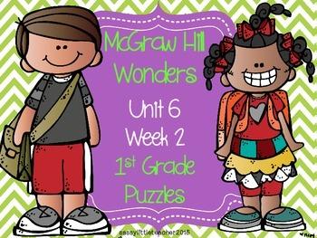 McGraw Hill Wonders Unit 6 Week 2 Puzzles