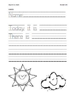 Kindergarten Wonders: Unit 6 Week 3- PowerPoint/Activities