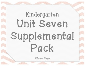 McGraw Hill - Wonders - Unit 7 Supplemental Pack