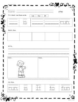 Kindergarten Wonders: Unit 7 Week 1- Lesson Plan/Activities
