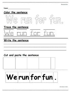 Kindergarten: Unit 7 Week 1- PowerPoint/Activities