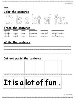 Kindergarten Wonders: Unit 7 Week 2- PowerPoint/Activities