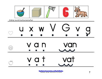 Wonders Reading Groups: Unit 7, Week 3:  Letters V/X