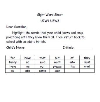 Kindergarten: Unit 8 Week 2- Lesson Plans/Activities